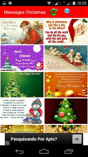 Messages Christmas screenshot 1