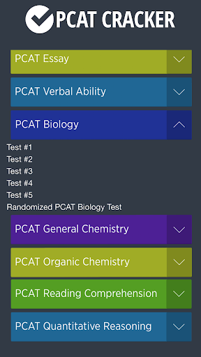 Pharmacy Admission Test PCAT