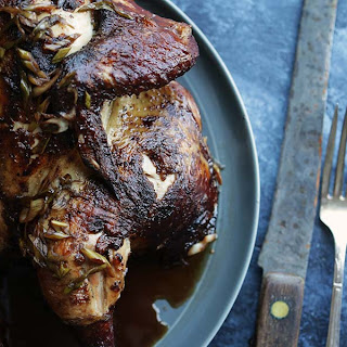 Marinated Chicken Recipe with Soy and Red Wine