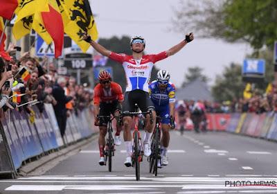 Mathieu van der Poel won op erg fraaie wijze de Brabantse Pijl in 2019