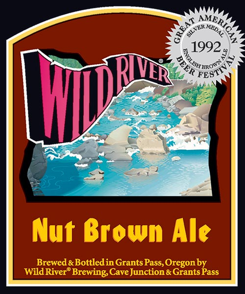 Logo of Wild River Nut Brown Ale