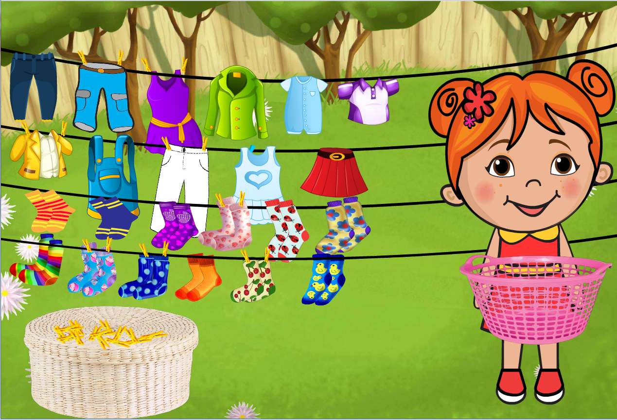 Lili Ironing Washing Dresses- screenshot