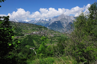 Photo: La commune de Haute et Basse Nendaz