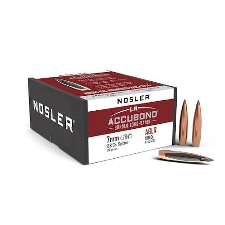 Nosler Accubond LR 7mm/ .284 168gr 100st