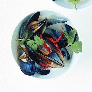 Lemongrass, Coconut And Chilli Mussels.
