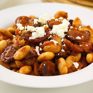 Chorizo Butter Bean Braise