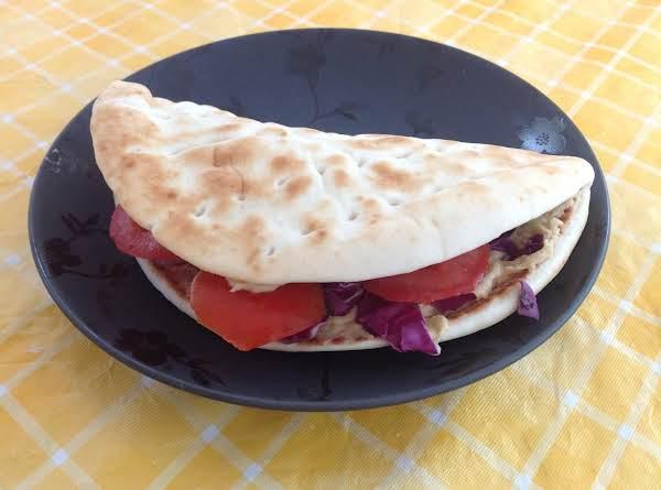 Hummus Pita Sandwich Recipe