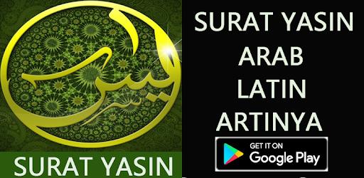 Surat Yasin Arab Latin Artinya Aplikasi Di Google Play