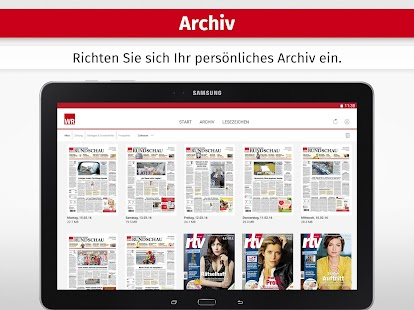 WR ZEITUNG DIGITAL- screenshot thumbnail