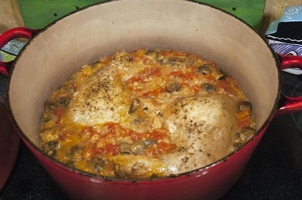 Remove from heat, and allow the chicken to rest for an additional 5 minutes.