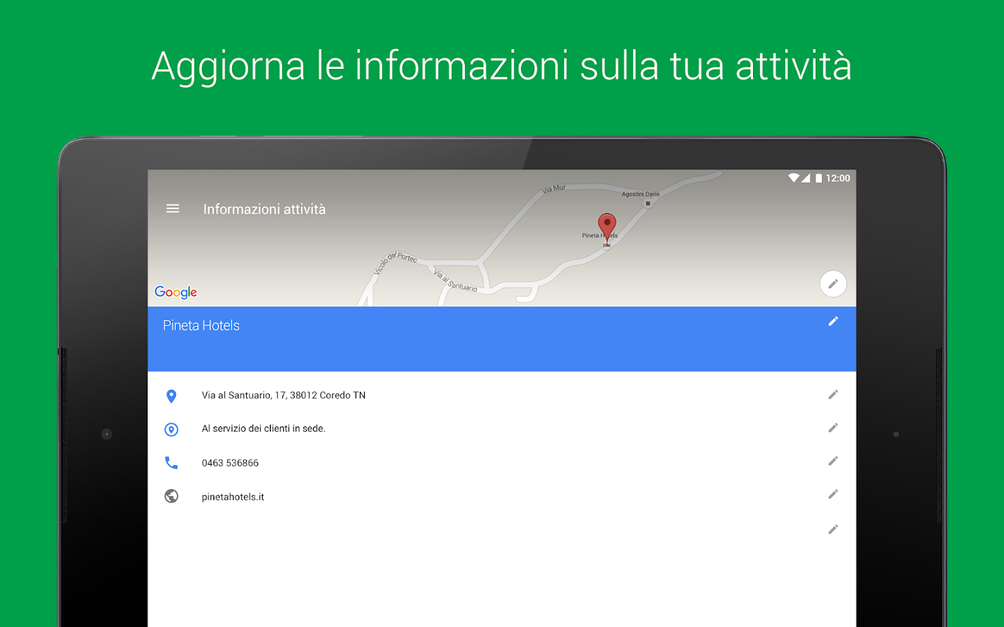 Google My Business- screenshot
