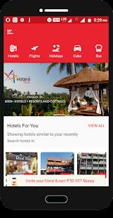 Vistara Tours - náhled