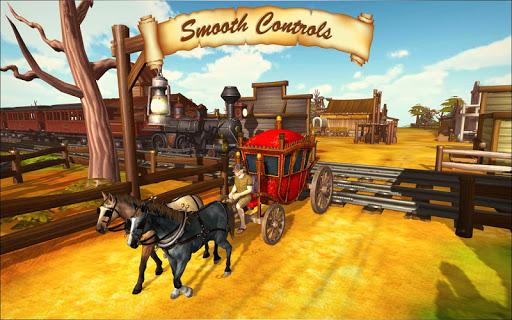 Horse Taxi City Transport: Horse Riding Games painmod.com screenshots 7