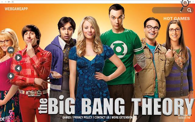 The Big Bang Theory HD Wallpapers New Tab