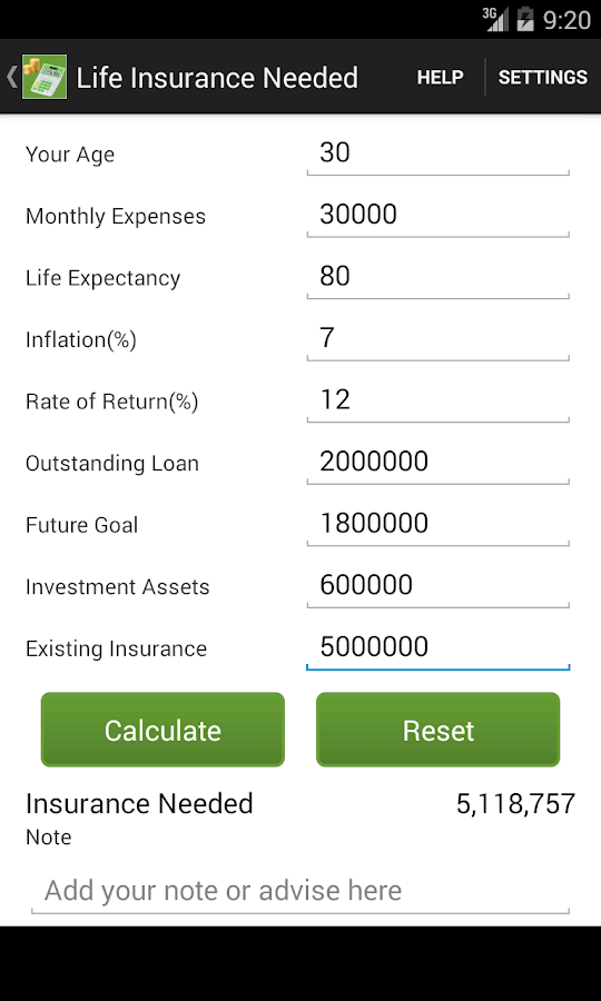 Financial Planner- screenshot