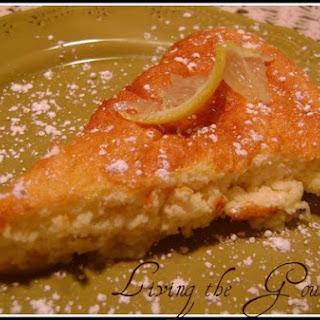 Living The Gourmet Lemon Pudding Cake.