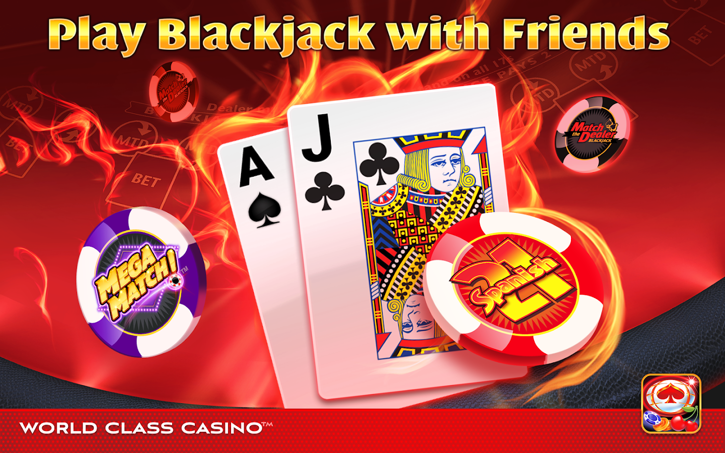 World Class Casino Slots, Blackjack & Poker Room- screenshot
