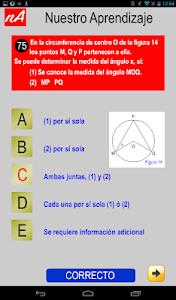 PSU Matemática Prueba Ensayo screenshot 12