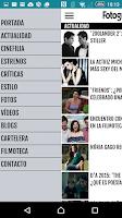 Screenshot of FOTOGRAMAS peliculas cine
