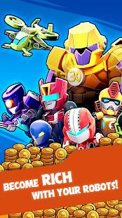 合併機器人-點擊和空閒大亨遊戲