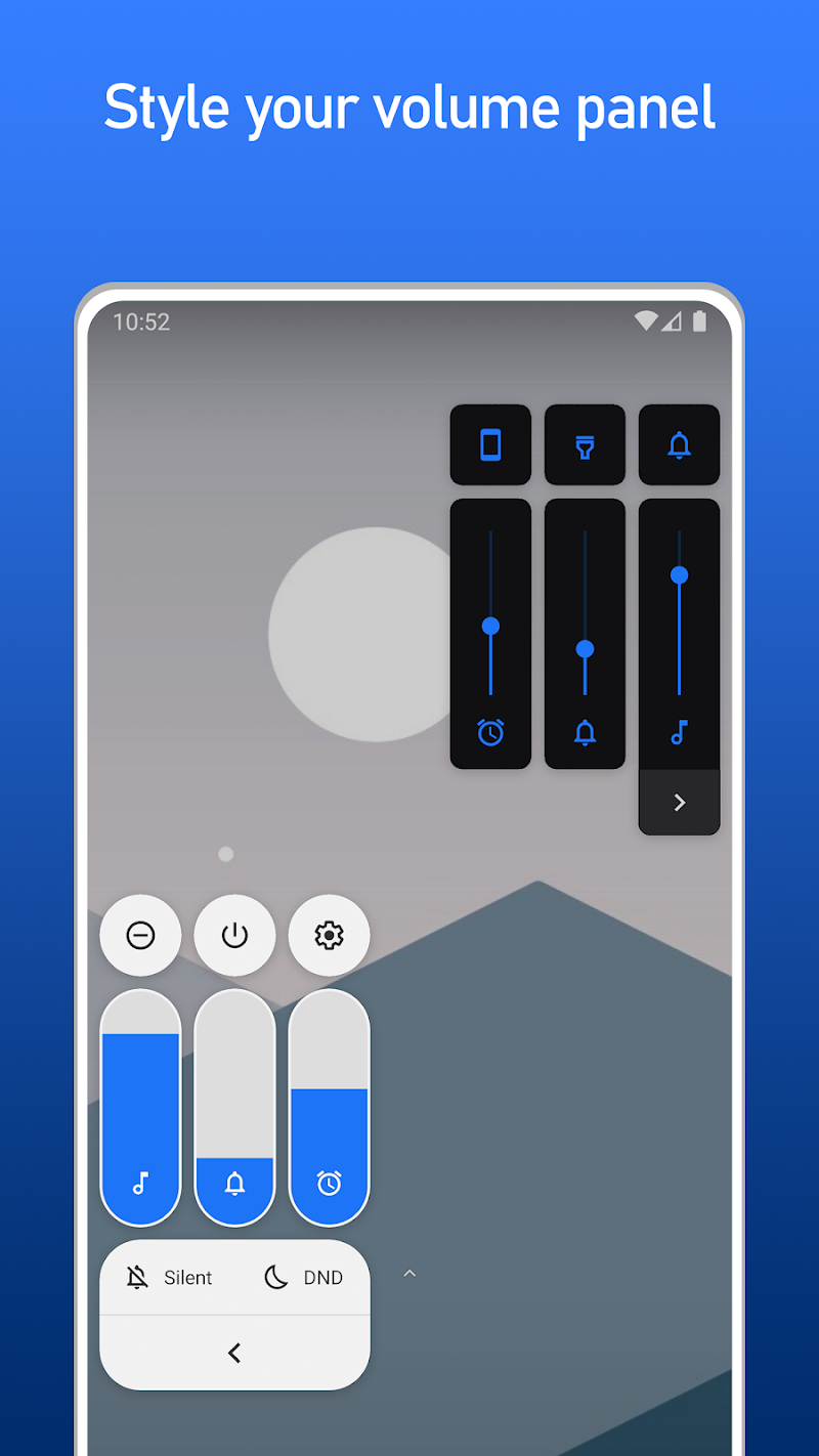 Volume Styles – Customize your volume panel v3.1.4 [Premium] APK [Latest]