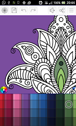Mandalas coloring pages (+200 free templates) APK screenshot thumbnail 20