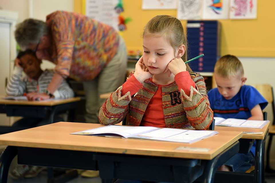 O formato de fileira é um dos mais comuns em sala de aula. (Imagem: Pexels)