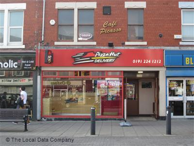 Pizza Hut Delivery On Chillingham Road Pizza Takeaway In