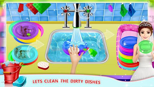 Elsa Home Cleaning Gamesu2013 Garage Dust Clean Up- apktram screenshots 3