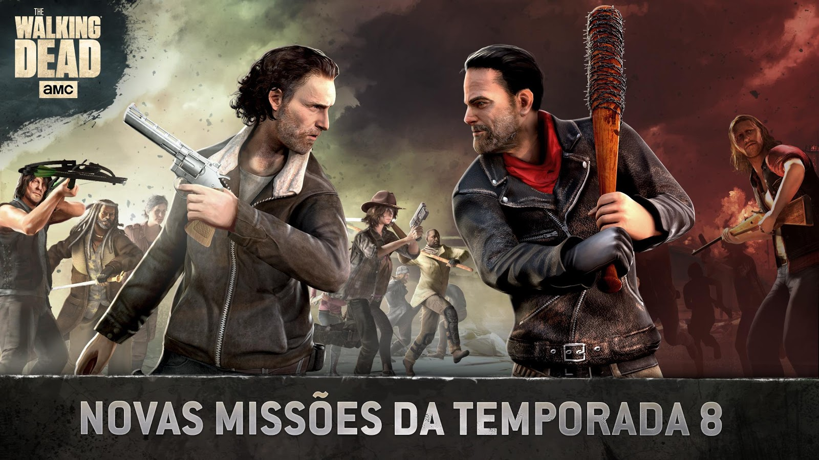 Walking Dead Wallpaper For Android: The Walking Dead No Man's Land