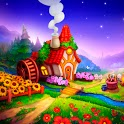 Royal Farm: Village game with quests & fairy tales icon