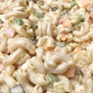 Classic Macaroni Salad.