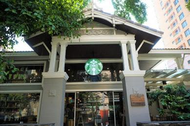 【世界のスタバ】タイ・バンコクの芸術的な一軒家スタバ「スターバックス・ランスワン店」とは?