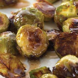 Browned Brussels With Maple Butter From 'Choosing Sides'.