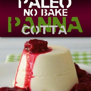 No Bake Panna Cotta