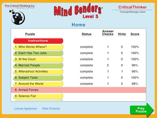 Mind Benders® Level 5 hack tool