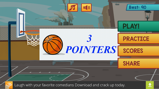 3 Pointers Basketball