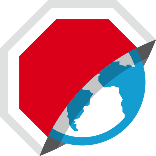 Adblock Browser voor Android logo