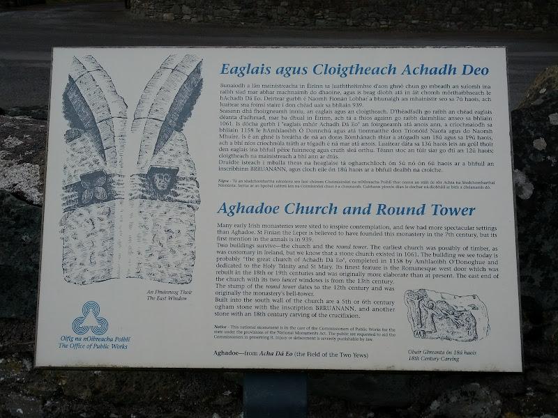 Photo: Details on Aghadoe Church