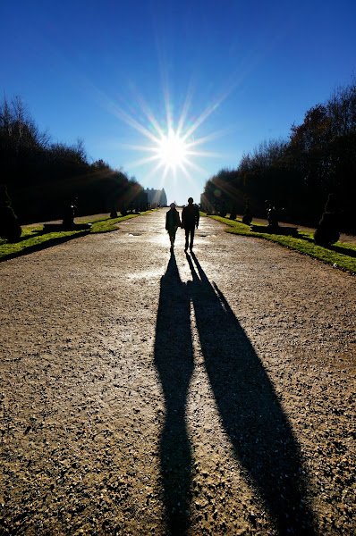 Photo: ... And they walked off into the sunset.... THE END  Only one more week till Valentines... bah humbug :D   (Shot in the garden of Versailles, going around with only the 10-18mm really gives you a different take when composing your shots)