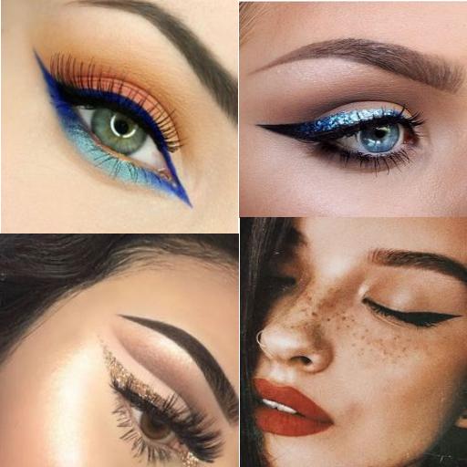 Red Lipstick & Eyeliner Ideas screenshots 2