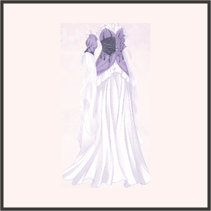 アテナの装束(紫)