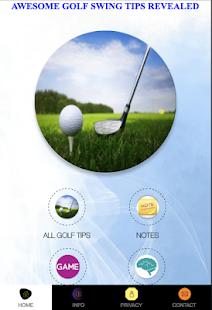 Golf Swing Tips Revealed - náhled
