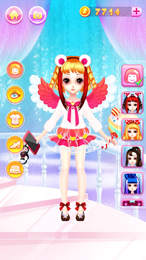 Princess Fashion Makeover: Hair Salon & Dress up 1.11 gameplay | by HackJr.Pw 15