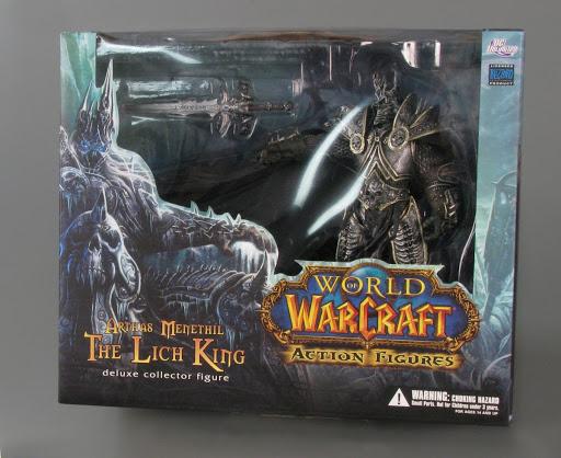 Action Figure World Of Warcraft Deluxe Action Figure Arthas