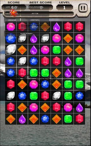 Jewels mineral blast Column