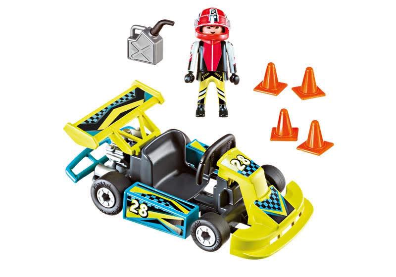 Contenido Real de Playmobil® 9322 Maletín Kart Racer