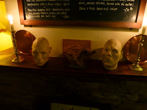 Photo: A pub with some strange artifacts!