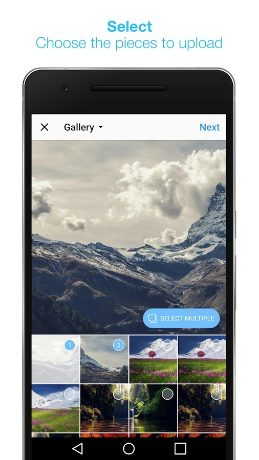 InSwipe Panorama for Instagram – скриншот