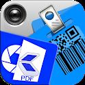 Qr + Barcode + PDF Scanner Pro icon